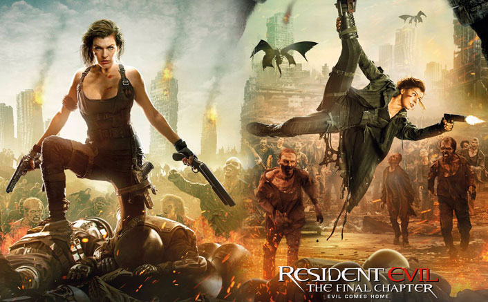 Resident Evil: The Final Chapter's New Action Packed Posters