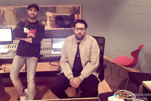 Are Diljit Dosanjh and Badshah jamming together for something new?