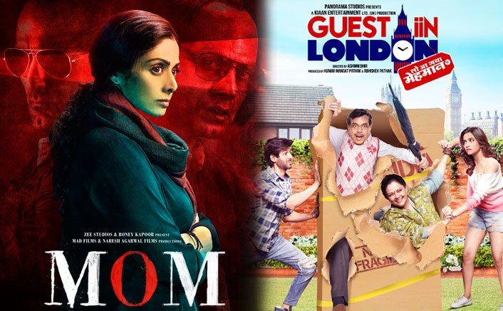 Sridevi's 'Mom' to clash with Kartik Aaryan's 'Guest iin London'