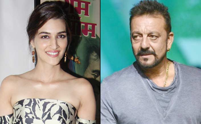 Excited to share work space with Sanjay Dutt: Kriti Sanon