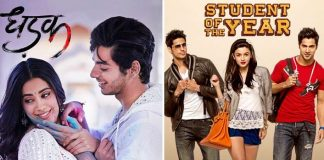 Will Dhadak Emerge The Highest Grossing Film At Box-Office For Debutants By Surpassing Student Of The Year? VOTE NOW