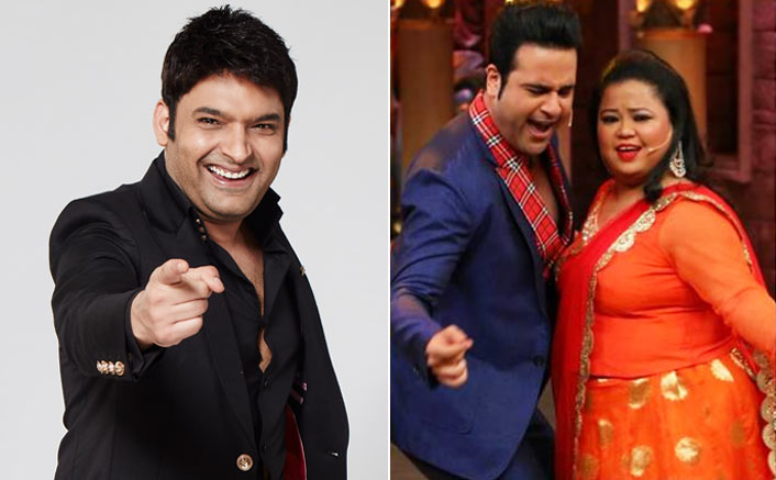 Image result for latest images of kapil sharma with krushna abhishek and bharti singh