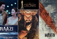 Oscars 2019: Raazi, Padmaavat, Manto or other? Which one will be India's Official entry?